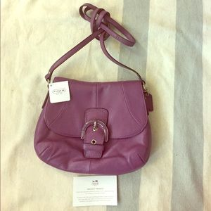 COACH Cross Body Leather Bag