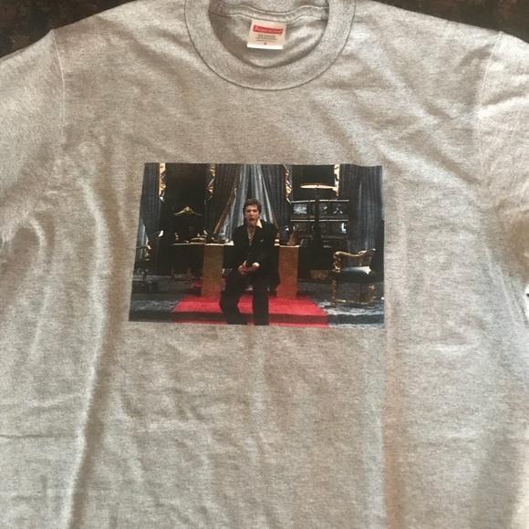 45017ec67d06 Supreme Shirts   Brand New X Scarface Tee Grey Size Small   Poshmark