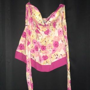 Body Central size L. Strapless shirt.