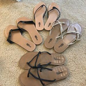 Charlotte Russe Flip Flop Bundle