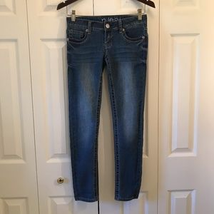 Rue 21 Jr Womens Low Rise Skinny Jeans sz 0 Short