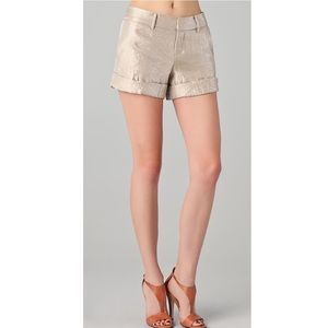 NWOT! Club Monaco Marianna Champagne City Shorts