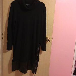 Ashley Stewart  plus/ sweater dress
