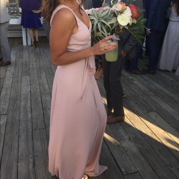 fd6d256cecff Show me your Mumu bridesmaid dusty blush crisp. M_59e0e79dc6c795c17102cc89