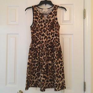 NWT Everly Leopard Print Dress