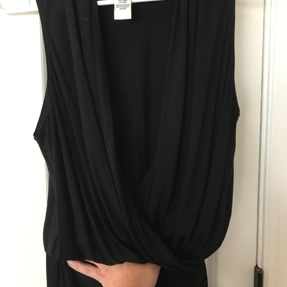 05b7b5cf36 Max Studio shawl neck knit jumpsuit size med. M 59e0ebf04e8d17aec402e16c