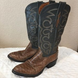 Sheplers women's leather cowboy boots