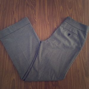 LOFT Wide-Leg Cuffed Pants