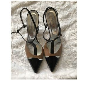 Saks 5th Ave T Strap Heels