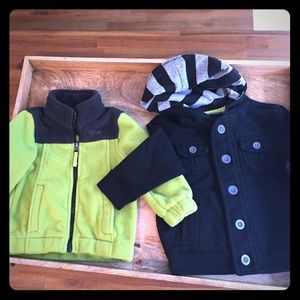 3/$15 Sale! Baby boys Jacket Bundle