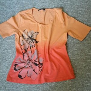 Tops - Happy top by Betty ombre colored, M