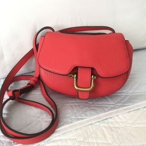 Authentic J.Crew Leather Crossbody Bag