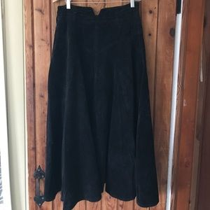 Vintage French Connection Corduroy Skirt.
