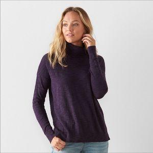 🆕Sonoma split hem swing sweater