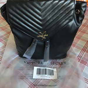 fb7ffdb75b603 Victoria's Secret V-Quilt Angel Backpack NWT