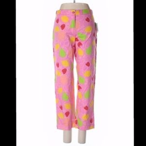 Lilly Pulitzer Pink Fruit Pants