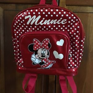 Small Minnie Mouse backpack