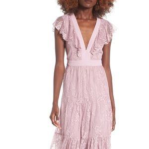 Hadley Lace Midi Dress