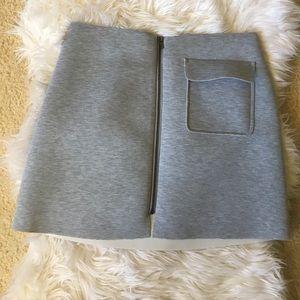 Romeo and Juliet Couture Scuba Mini Skirt