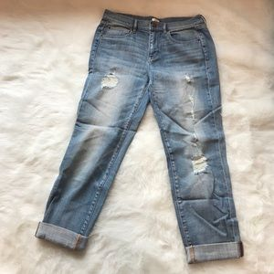 Jcrew boyfriend jeans never been worn!