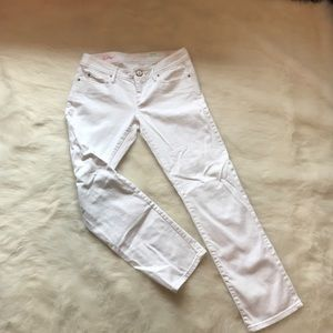 Lilly Pulitzer white jeans