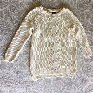 ADORABLE Cynthia Rowley 3/4 length cream sweater!!