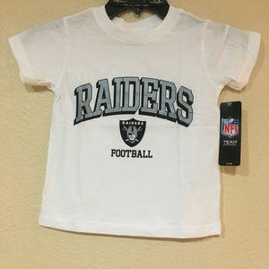 Other - Oakland Raiders Toddler Short Sleeve T-shirt White