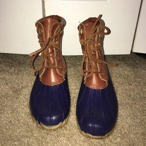 Ralph Lauren boat boots