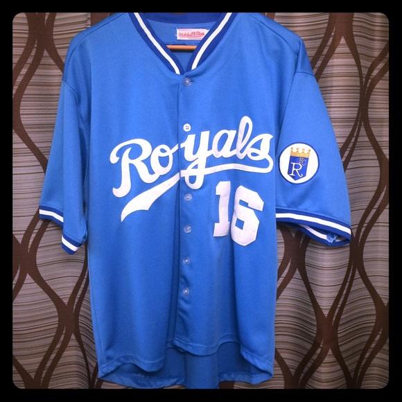 watch 7ac66 d3391 Bo Jackson KC royals baseball jersey!!