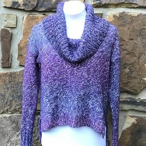 AEO Ombré Cowl Neck Hi Lo Sweater
