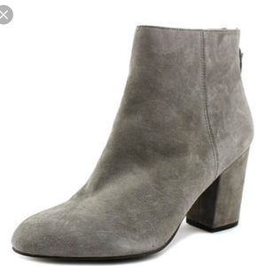 Ankle boots booties grey suede stylish fall