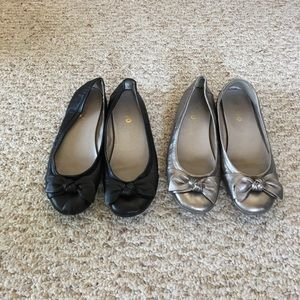 All leather flats from Me Too