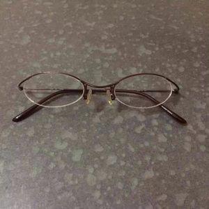 DKNY Rimless eyeglass frames