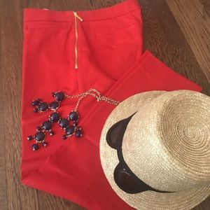Adorable red KATE SPADE pants