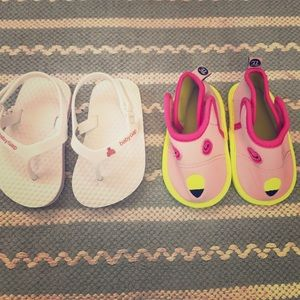 Other - 2 pairs of baby summer shoes
