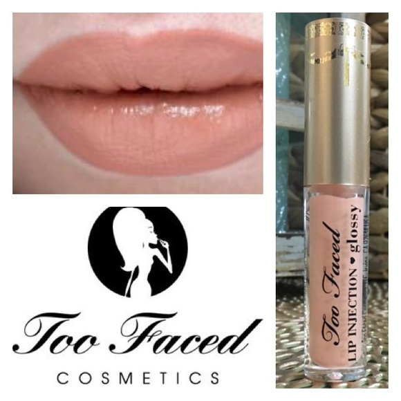 Too Faced Lip Injection Glossy -Milkshake(0 03 oz) NWT