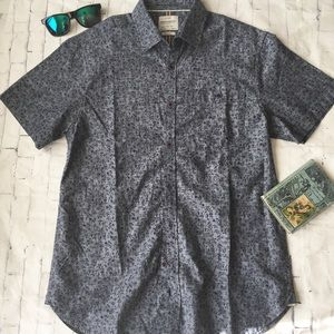 Floral Slim Fit Button Down Shirt
