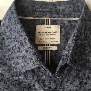 American Heritage Shirts - Floral Slim Fit Button Down Shirt