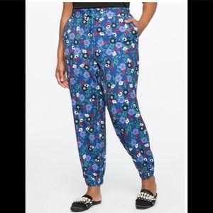 Pants - Floral Track Pants