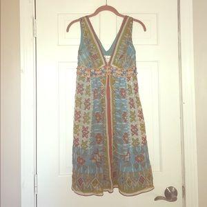 Nicole Miller multicolored dress, Size 0P