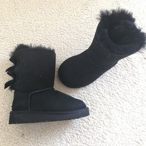 NEW Kids UGG Bailey Bow Boots