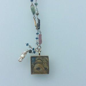 Jewelry - Semi precious necklace with pendant