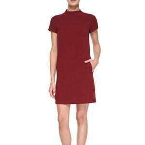 Red Jasneah Dress in admiral crepe