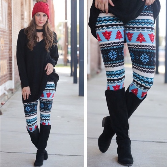 Infinity Raine Pants - 🌟1 left!🌟Holiday Leggings