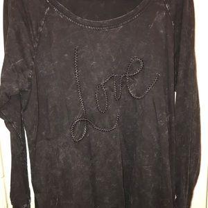 Torrid Love Vintage Wash Sweatshirt