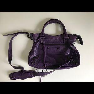 NWT Balenciaga Bag Violet/Dark Purple