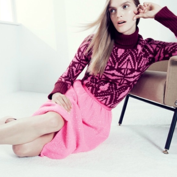 85% off J. Crew Sweaters - J. Crew collection cashmere fair isle ...