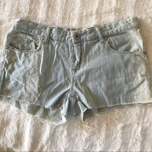 BLANK NYC Womens Lace Distrssed Shorts Size 26