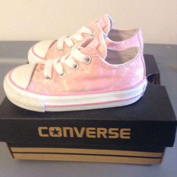834b5cff755 Converse Other - Converse Baby Girl Pink Sneakers Size 5 EUC