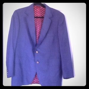 Carroll and Company blue sports coat